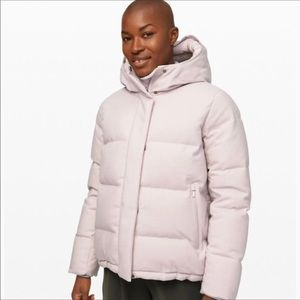 Lululemon Wunder Puffer *Wool Heathered Chrome 4